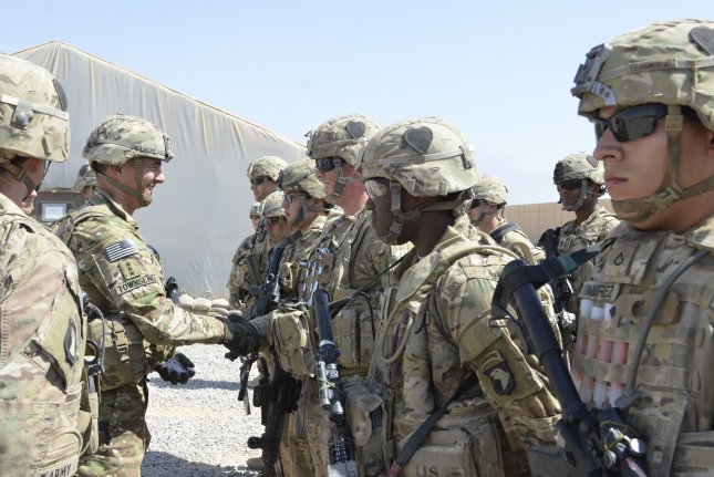 U.S. command forces responsible for coordinating ground operations in Iraq formally shut down on Monday, signaling the end of major ground combat there. File photo by Capt. Ryan E. Alvis/USMC/UPI