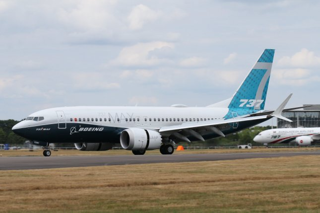 Boeing recorded its worst year for net aircraft sales since 1977 in 2020 but received more than 80 orders for its 737 Max plane in December after the ban on the aircraft was lifted. File Photo by Cityswift/Flickr