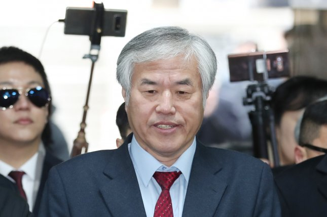 The Rev. Jun Kwang-hoon, former chief of the Christian Council of Korea, is accused with making sexist remarks during sermons. File Photo by Yonhap/EPA-EFE