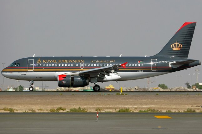 A Royal Jordanian Airlines Airbus A319 pictured inNovember 2008. File Photo byKonstantin von Wedelstaedt/WIKIMEDIA