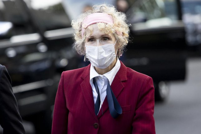 E. Jean Carroll has accused President Donald Trump of defamation by denying her accusations that he sexually assaulted her and that she invented the alleged attack in order to sell books. EPA-EFE/JUSTIN LANE