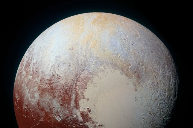 Scientists have discovered dunes on Pluto's surface, which are likely to have been formed by methane ice grains released into its atmosphere. The discovery suggests that the planet's surface is more geologically diverse and dynamic than scientists previously expected. Photo by NASA/JHUAPL/SwRI