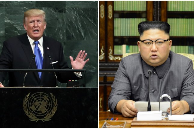 Comments from U.S. President Donald Trump regarding an openness to meeting North Korea's Kim Jong Un were received positively in Beijing on Monday. File Photos by Jason Szenes/UPI, KCNA/EPA-EFE