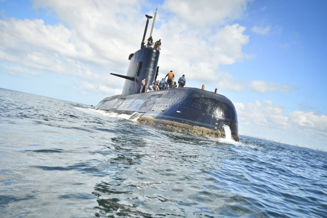 Noise detected in Atlantic not from missing Argentine submarine