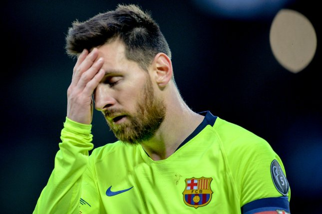 Lionel Messi and Barcelona will not play Real Madrid Oct. 26 but are expected to take on their rivals in El Clasico in December. Photo by Peter Powell/EPA-EFE