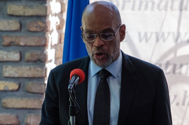 Haiti's top prosecutor said he is seeking charges against Prime Minister Ariel Henry in relation to the assassination of the late President Jovenel Moise, ordering him not to leave the country.File Photo by Maxime Giordani/EPA-EFE