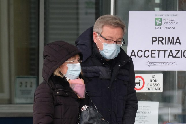 Italy extended its COVID-19 quarantine nationwide as it reported more than 460 deaths due to the virus. Photo by Filippo Venezia/EPA-EFE