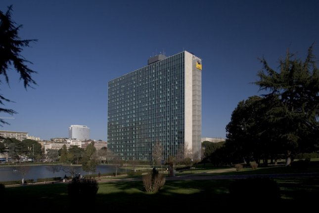 Eni has been present in Angola since 1980 and currently account fors an equity production of about 150,000 barrels of oil equivalent per day. Pictured, Eni's headquarters in Rome, Italy. Photo courtesy of Eni