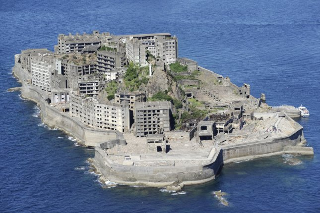 Japan said it has taken follow-up measures to implement the recommendations of the UNESCO World Heritage Committee, days after South Korea's foreign ministry requested the cancellation of a UNESCO endorsement for Hashima Island. File Photo by Yonhap/EPA