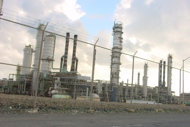 The Limetree Bay petroleum refinery in St. Croix, U.S. Virgin Islands, is shown on February 16, 2005, when it was operated by Hovensa LLC. File photo by Cumulus Clouds/Wikimedia Commons