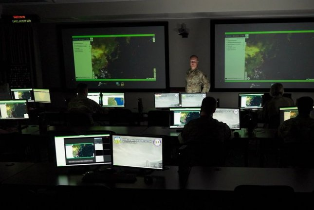 Representatives from all 11 U.S. combatant commands participate in the third Global Information Dominance Experiment exercise at North American Aerospace Defense Command and U.S. Northern Command Headquarters at Peterson Air Force Base, Colo., on July 13. Tech. Sgt. Tommy Grimes/U.S. Air Force