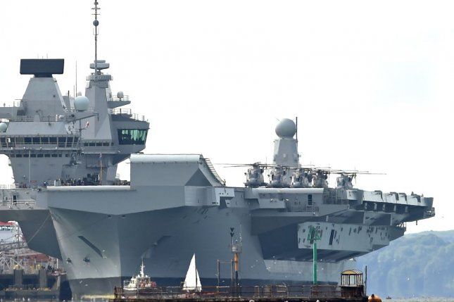 UK's newest, most expensive aircraft carrier needs fix