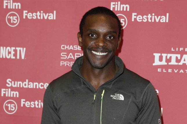 Chris Chalk attends the Sundance Film Festival premiere of Lila & Eve on January 30, 2015. The actor wed Kimberley Dalton Mitchell in his hometown of Asheville, N.C., on Saturday. File Photo by George Frey/EPA