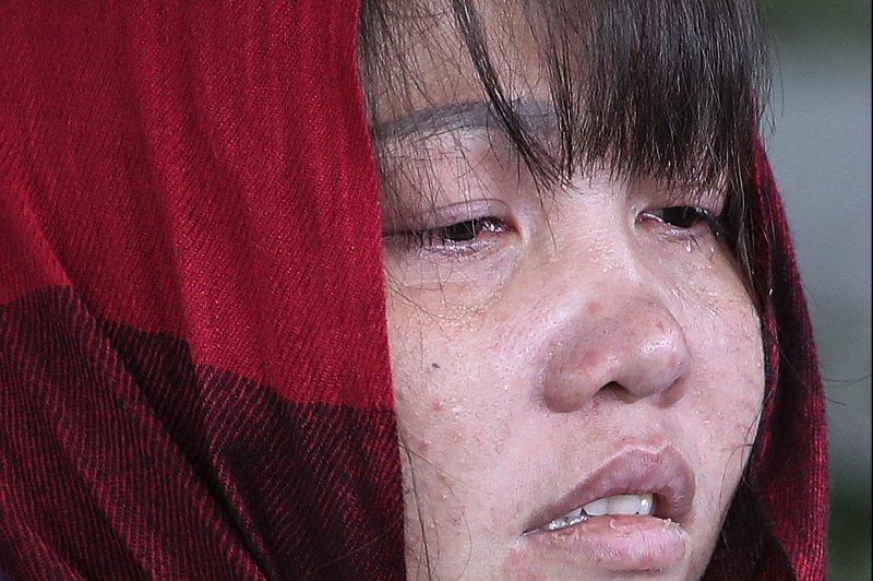Vietnamese national Doan Thi Huong remains in Malaysian custody. EPA-EFE/FAZRY ISMAIL