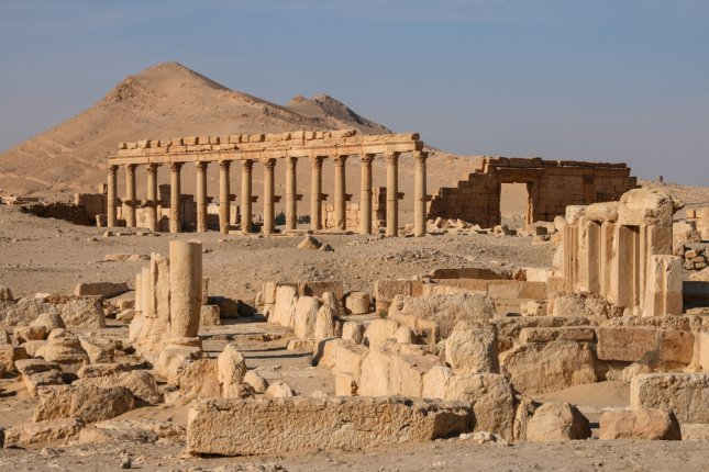 Ancient Aramaic city of Palmyra in the Syrian desert -- before the Islamic State capture. The Syrian Army has now taken it back and the damage may be less than initially feared. File Photo by Linda Marie Caldwell/UPI