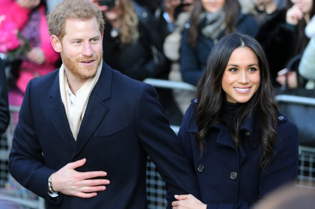 The new titles for Prince Harry and Meghan Markle were announced ahead of their planned Saturday wedding. File Photo by Nigel Roddis/EPA-EFE