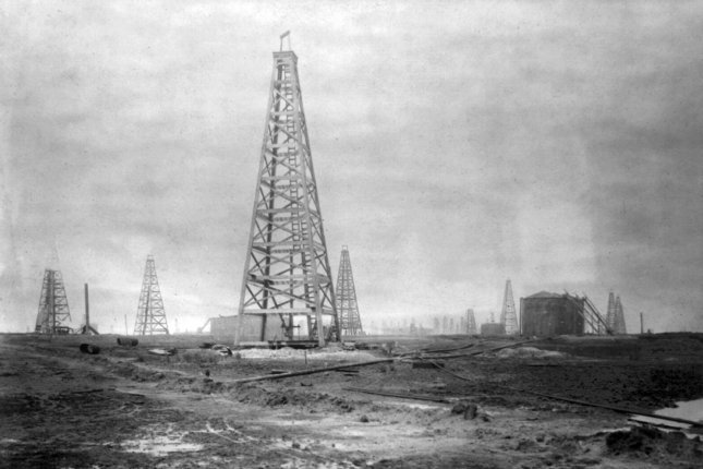 North Dakota records an increase in the number of rigs in service across the state as the price of crude oil holds steady near $50 per barrel. File Photo by Library of Congress/UPI