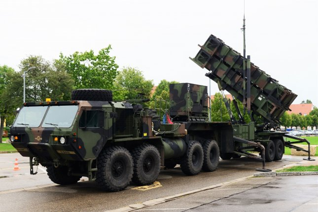 The United States will deploy one Army Patriot missile defense battery similar to the one pictured. File Photo by Charles Rosemond/U.S. Army
