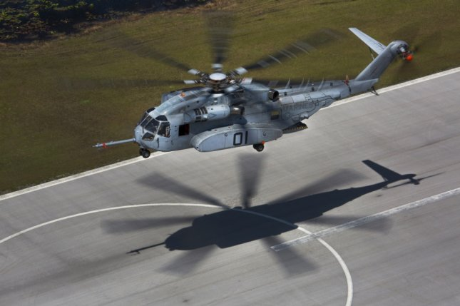 Ongoing engine integration problems with the CH-53K King Stallion helicopters have been solved, the U.S. Marine Corps announced. File Photo by Lance Cpl. Molly Hampton/U.S. Marine Corps/UPI
