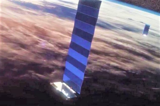 SpaceX is moving forward with beta testing of its  Starlink satellite network. File Image by SpaceX