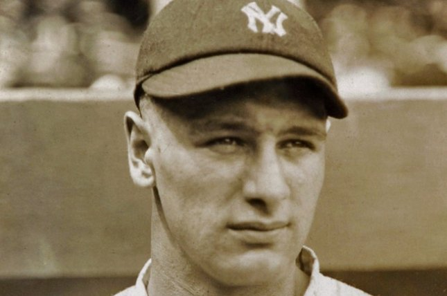 MLB said it will have its inaugural Lou Gehrig Day on June 2 to honor the Hall of Fame first baseman and raise awareness for ALS. Photo by Legendary Auctions/Wikimedia Commons
