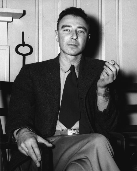 On February 18, 1967, J. Robert Oppenheimer, the father of the atomic bomb, died in Princeton, N.J., at the age of 62. File Photo courtesy of the U.S. Department of Energy