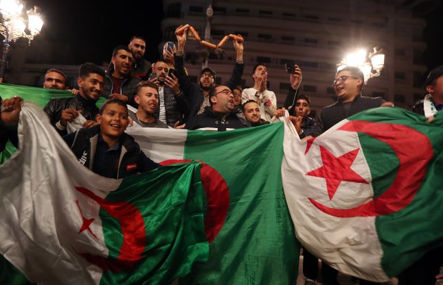 Algerians have been taking to the streets since late February demanding the Abdelaziz Bouteflika regime step down. Photo by Mohamed Messara/EPA-EFE