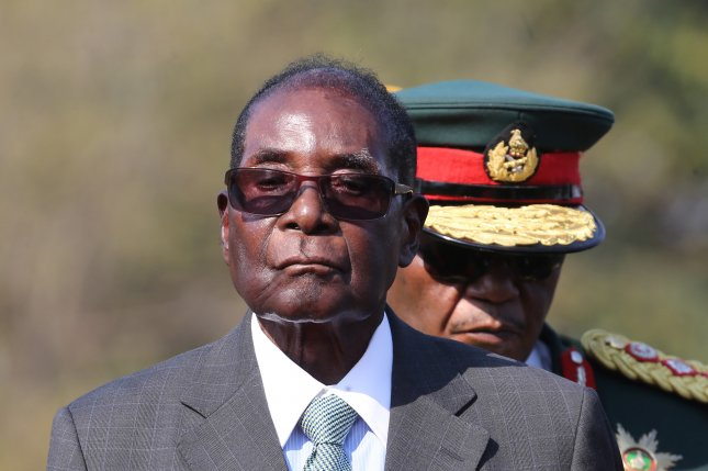 Former Zimbabwean President Robert Mugabe died in a Singaporean hospital receiving treatment for an unspecified illness. File Photo by Aaron Unfumeli/EPA-EFE