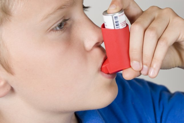 A study conducted in Europe found children with asthma are at increased risk for childhood obesity. Photo by M. Dykstra/Shutterstock