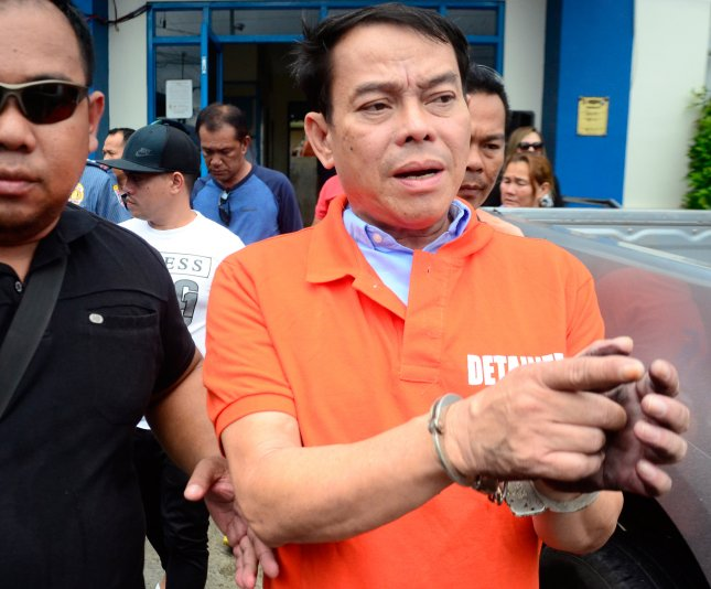 Rolando Espinosa, mayor of Albuera Township, was linked by President Rodrigo Duterte to illegal drug trading. He was shot dead in his cell on Nov. 5, 2016 during a 'firefight' in the Sub-Provincial Jail in Baybay, Leyte Province, during a search for illegal firearms. Espinosa surrendered to the national police in October 2016 saying he feared for his life following a shoot on sight order issued by Duterte if resisting arrest. Photo by Robert Dejon/EPA