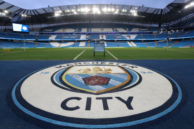 Manchester City was banned from the Champions League for the next two seasons for having broken financial fair play rules. The club was also fined about $33 million. File Photo by Jon Super/EPA-EFE