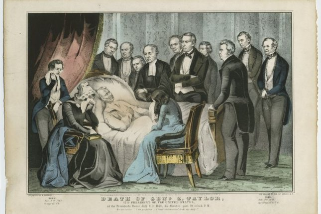 On June 17, 1991, a coroner in Kentucky exhumed the remains of President Zachary Taylor to prove or disprove rumors he was killed by arsenic poisoning. Image courtesy of the Cornell University Library