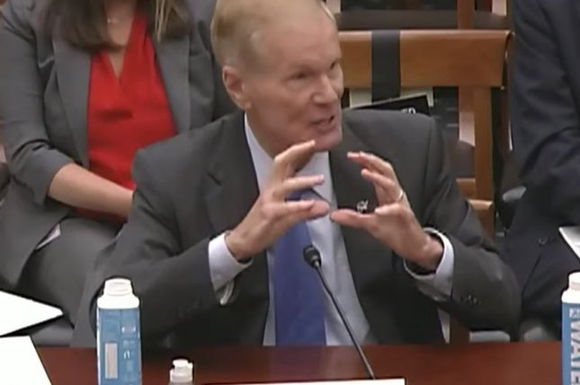 NASA Administrator Bill Nelson testifies Wednesday in Washington D.C. about the agency's budget before a committee of the U.S. House of Representatives. Photo courtesy of NASA
