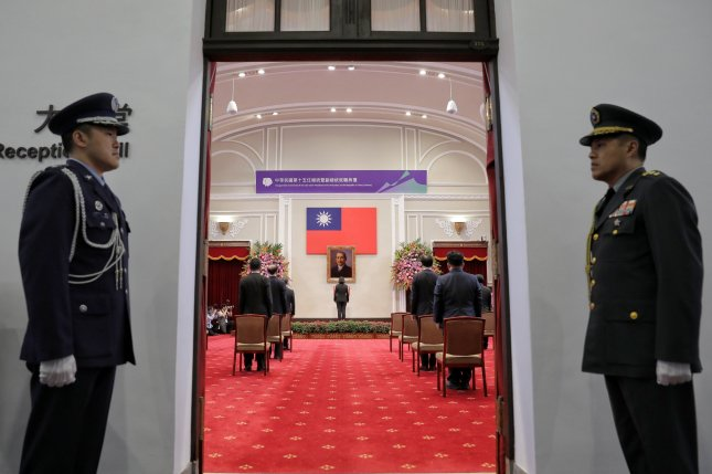 The Taiwanese government welcomed a recent U.S. approval of a weapons sale worth $620 million. File Photo courtesy of Taiwan Presidential Office