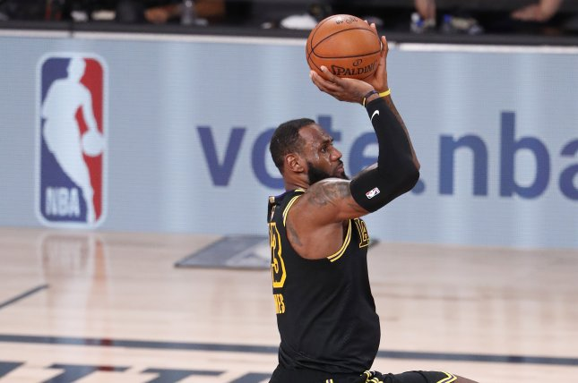 Nba Finals Lebron Los Angeles Lakers Beat Miami Heat For 2 0 Series Lead Upi Com