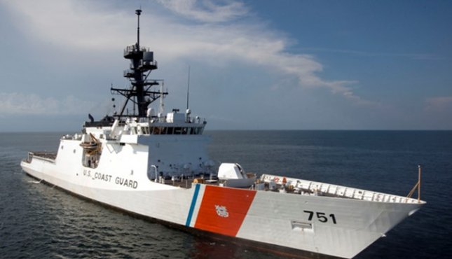 Coast Guard Cutter Waesche has finished emergent repairs, conducted in Japan, following a fire aboard the vessel in September, the Coast Guard said this week. Photo by U.S. Coast Guard