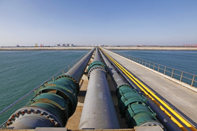 Russian energy company Gazprom reviewing gas pipeline options with French counterparts during bilateral talks in Paris. File Photo by tcly/Shutterstock
