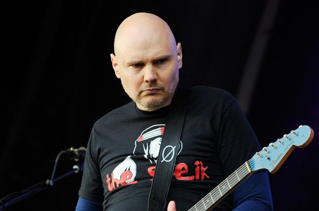 The Smashing Pumpkins frontman Billy Corgan. The band has announced a joint tour with Noel Gallagher's High Flying Birds. File Photo by Facundo Arrizabalaga/EPA