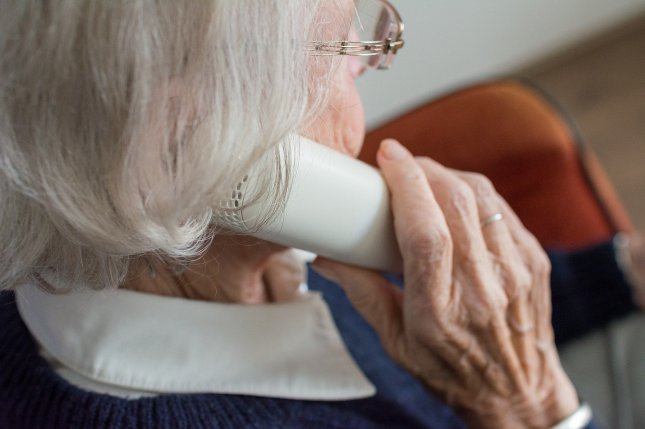 Speech patterns in phone conversations can be used to identify people with early Alzheimer's disease, a new study suggests. Photo by Sabine van Erp/Pixabay