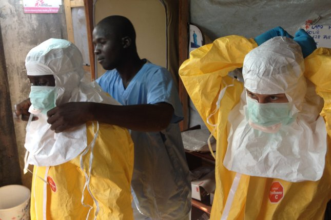 WHO estimates 20,000 people could be infected with the Ebola virus in the next nine months. Though frightening and very lethal, relatively simple precautions can break the cycle of transmission and stop the epidemic from spreading. The European Commission's Humanitarian Aid and Civil Protection department (ECHO) supports MSF, WHO and IFRC in their efforts to contain the epidemic. UPI/FILE/EC/ECHO/