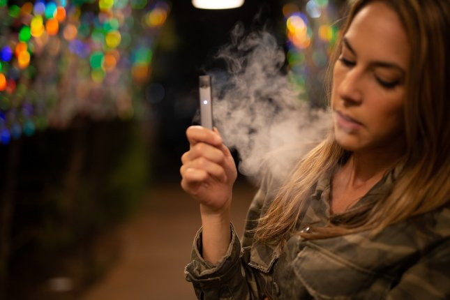 While two-thirds of teens acknowledge the potential health risk of vaping, different groups of teens see e-cigarettes in different ways, according to a new survey. Photo by sarahjohnson1/Pixabay