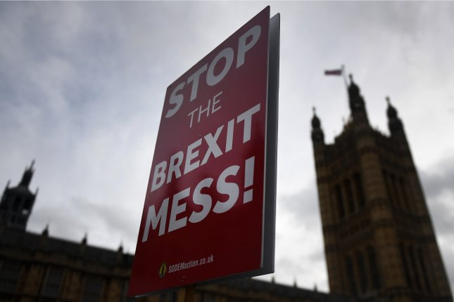 Activists stage a rally outside Parliament in London, Great Britain. File Photo by Andy Rain/EPA-EFE