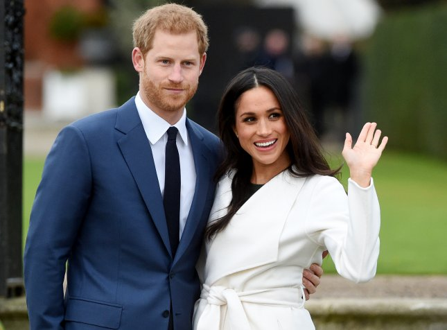 Kensington Palace requested understanding and respect for Prince Harry and Meghan Markle following a report her father, Thomas Markle, won't attend the couple's wedding. File Photo by Facundo Arrizabalaga/EPA