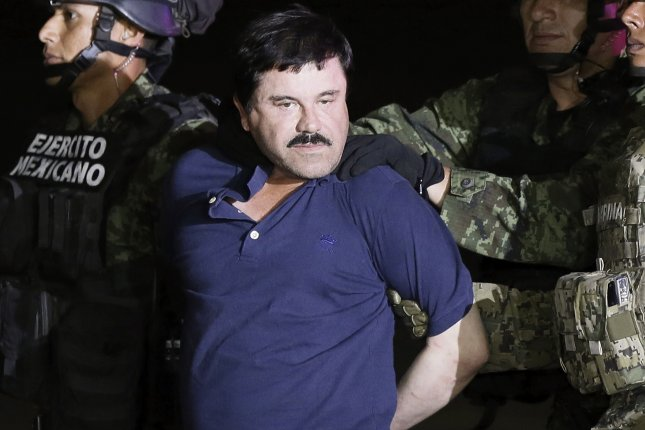 In rare remarks in New York court, accused kingpin Joaquin El Chapo Guzman said he will not testify in his own defense. File Photo by Jose Mendez/EPA