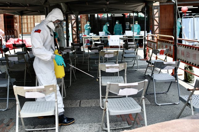 Taiwan is seeking COVID-19 vaccines after a new wave of the novel coronavirus infected hundreds daily in May. File Photo by Ritchie B. Tongo/EPA-EFE