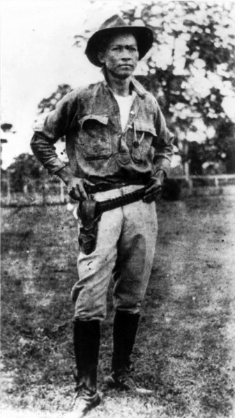 On February 21, 1934, Nicaraguan guerrilla leader Cesar Augusto Sandino was killed by members of the country's national guard. File Photo courtesy of Underwood & Underwood/Wikimedia