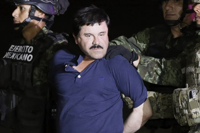 Two sons of Mexican drug lord Joaquin 'El Chapo' Guzman were indicted on drug conspiracy charges. File Photo by Jose Mendez/EPA