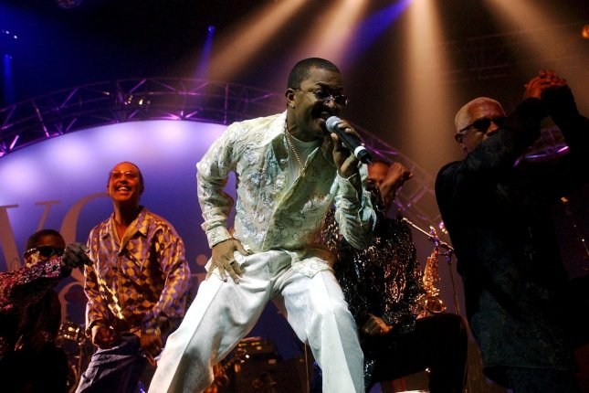 Singer Ronald Bell of Kool & the Gang performs in Basel, Switzerland, in November 2002. Ronald Bell has died at the age of 68. File Photo by Markus Stuecklin/EPA