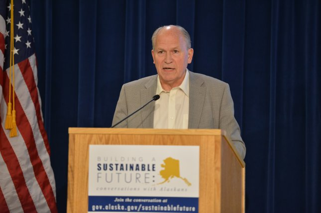 Alaskan Gov. Bill Walker said he didn't think he would win a three-way race against a fellow Democrat and a Republican. File photo courtesy state of Alaska