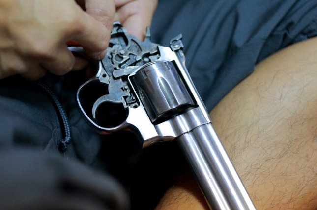 Safely storing a firearm can lower suicide risk, but just 32 percent of military personnel lock up their firearms -- a number that mirrors the general society. File Photo by hareluya/Shutterstock.com